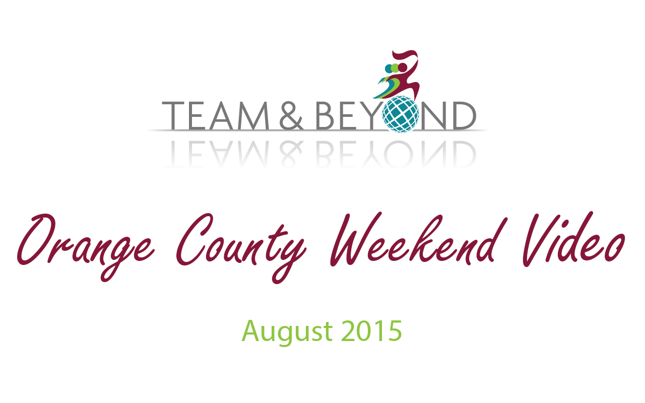 Orange County Weekend Video - August 2015