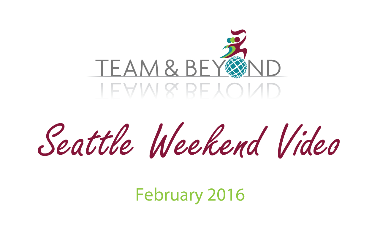 Seattle Weekend Video - February 2016