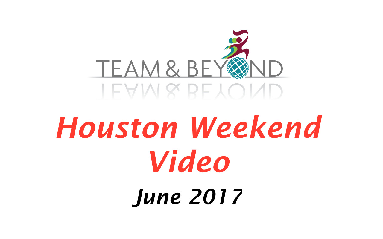 Houston Weekend Video - June 2017